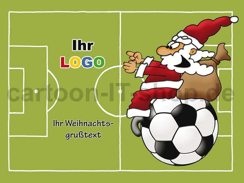 Motive Weihnachten Fussball