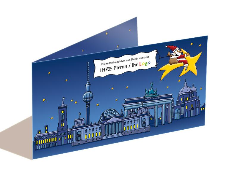 Weihnachtskarten Berlin.Weihnachtskarte Berlin